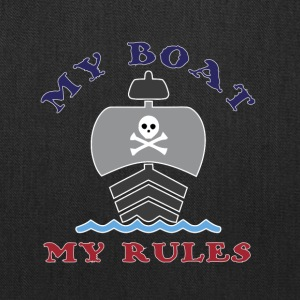 My Boat My Rules - Tote Bag