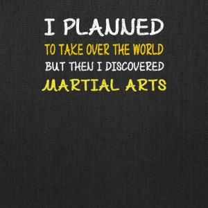 Funny Martial Arts Design-I Planned to Take Over - Tote Bag