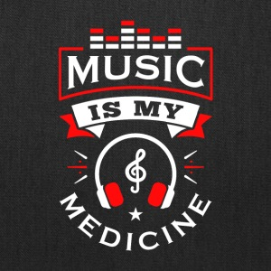 Music Is My Medicine - Tote Bag