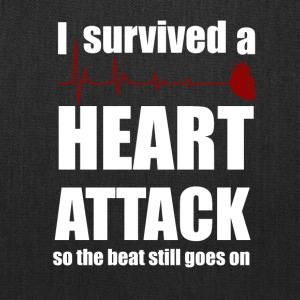 I survived a Heart Attack - Tote Bag