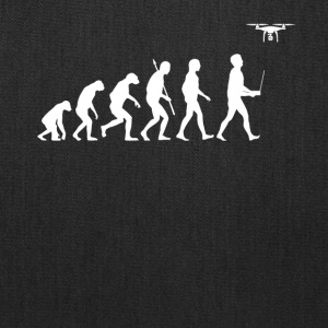 Evolution of Man - Drone Edition - Tote Bag