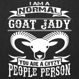 I Am A Normal Goat Lady Shirt - Tote Bag