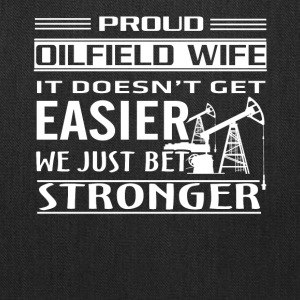 Oilfield Worker Tee Shirt - Tote Bag
