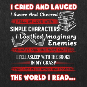 I Read Book Shirt - Tote Bag