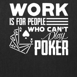 PLAY POKER TEE SHIRT - Tote Bag