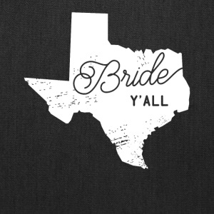 Texas Bride Y'all Design - Tote Bag