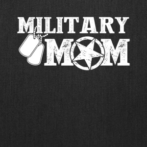 Military Mom Tee & Hoodie - Tote Bag