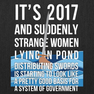 2017 Suddenly Strange Women Lying In Pond - Tote Bag