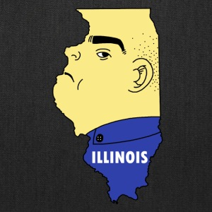 A funny map of Illinois - Tote Bag
