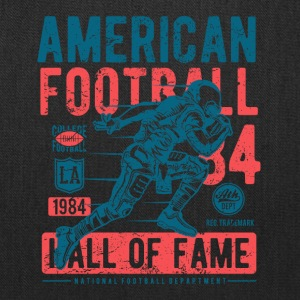 American Football Retro Vintage Distressed Design - Tote Bag