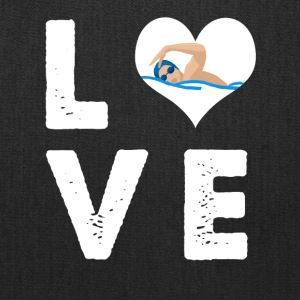 Love swimming - Tote Bag
