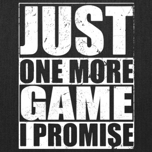 Just One More GAME - Tote Bag
