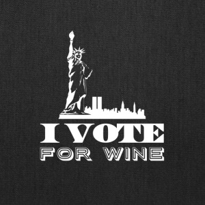 I vote for wine - Tote Bag