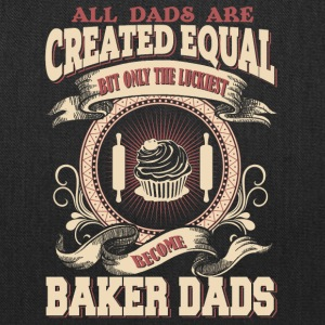 The Luckiest Dad Become Baker Dad - Tote Bag