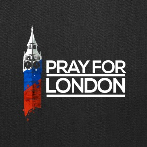 Pray For London, Big Ben England Memorial Union UK - Tote Bag