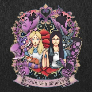 wonder and madness alice magical - Tote Bag