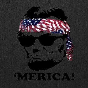 Funny Abe Lincoln 'Merica Shirt - Tote Bag