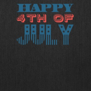 Happy 4th of July Independence Celebration - Tote Bag