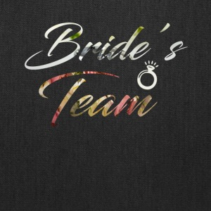 Bride's Team T-Shirt - Tote Bag