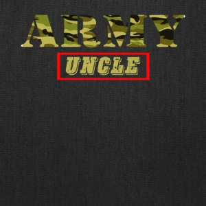 Army Uncle - Proud Army Uncle T-Shirt - Tote Bag