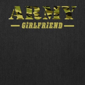 Army Girlfriend - Proud Army Girlfriend T-Shirt - Tote Bag