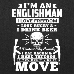 I'M AN ENGLISHMAN - LOVE RUGBY - Tote Bag