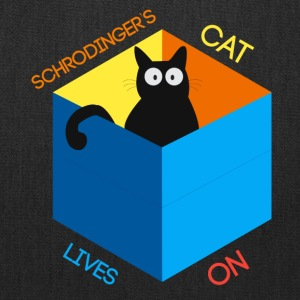 Schrodinger's Cat Lives - Tote Bag