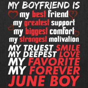 My Boyfriend Is June Boy - Tote Bag