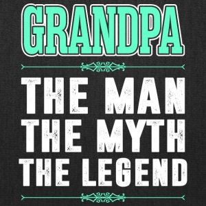 Grandpa The Man The Myth The Legend - Tote Bag