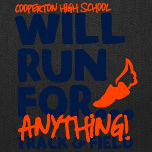 Cooperton High School Will Run For - Tote Bag