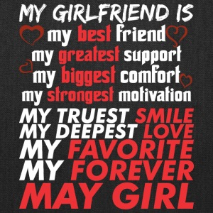 My Girlfriend Is May Girl - Tote Bag