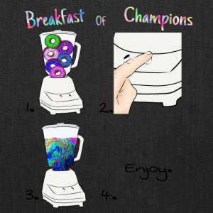 Breakfast of Champions Recipe - Tote Bag