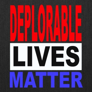 deplorable lives matter one - Tote Bag