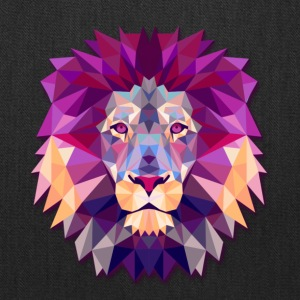 Lion Abstract - Tote Bag