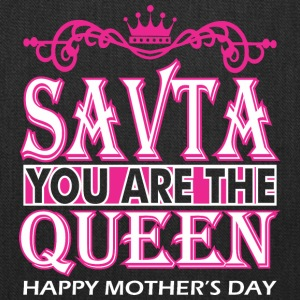 Savta You Are The Queen Happy Mothers Day - Tote Bag