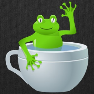 rg1024 unexpected frog in my tea 2400px - Tote Bag