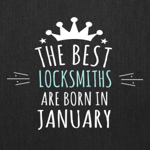 Best LOCKSMITHS are born in january - Tote Bag
