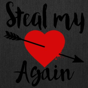 Steal my Heart tee - Tote Bag