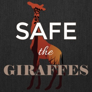 Safe the giraffes - Tote Bag