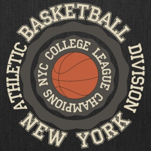 T Shirt inscription basketball New York vector art - Tote Bag