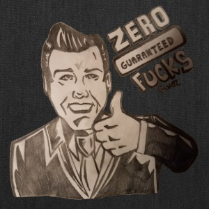 Zero Fucks Given (Retro Edition) - Tote Bag