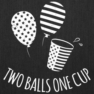 Two Balls One Cup - Tote Bag