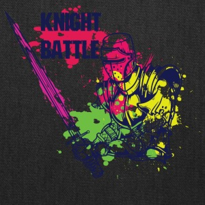 KNIGHT BATTLE COLORFUL - Tote Bag