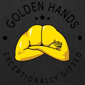 golden hands - Tote Bag