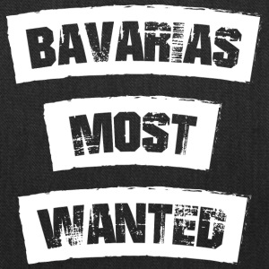 Bavarias most Wanted! Funny! - Tote Bag