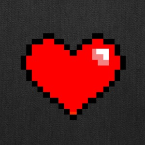 Pixel Heart - Tote Bag