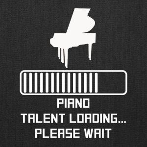 Piano Talent Loading - Tote Bag