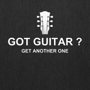 got guitar white - Tote Bag