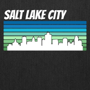 Retro Salt Lake City Skyline - Tote Bag