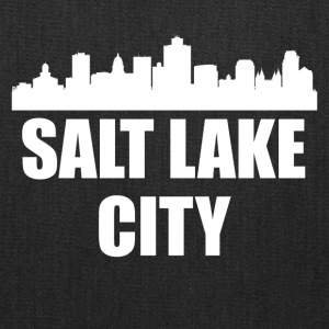 Salt Lake City UT Skyline - Tote Bag